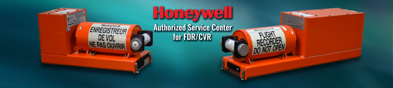 Aero is a Honeywell Authorized Service Center for FDR/CVR